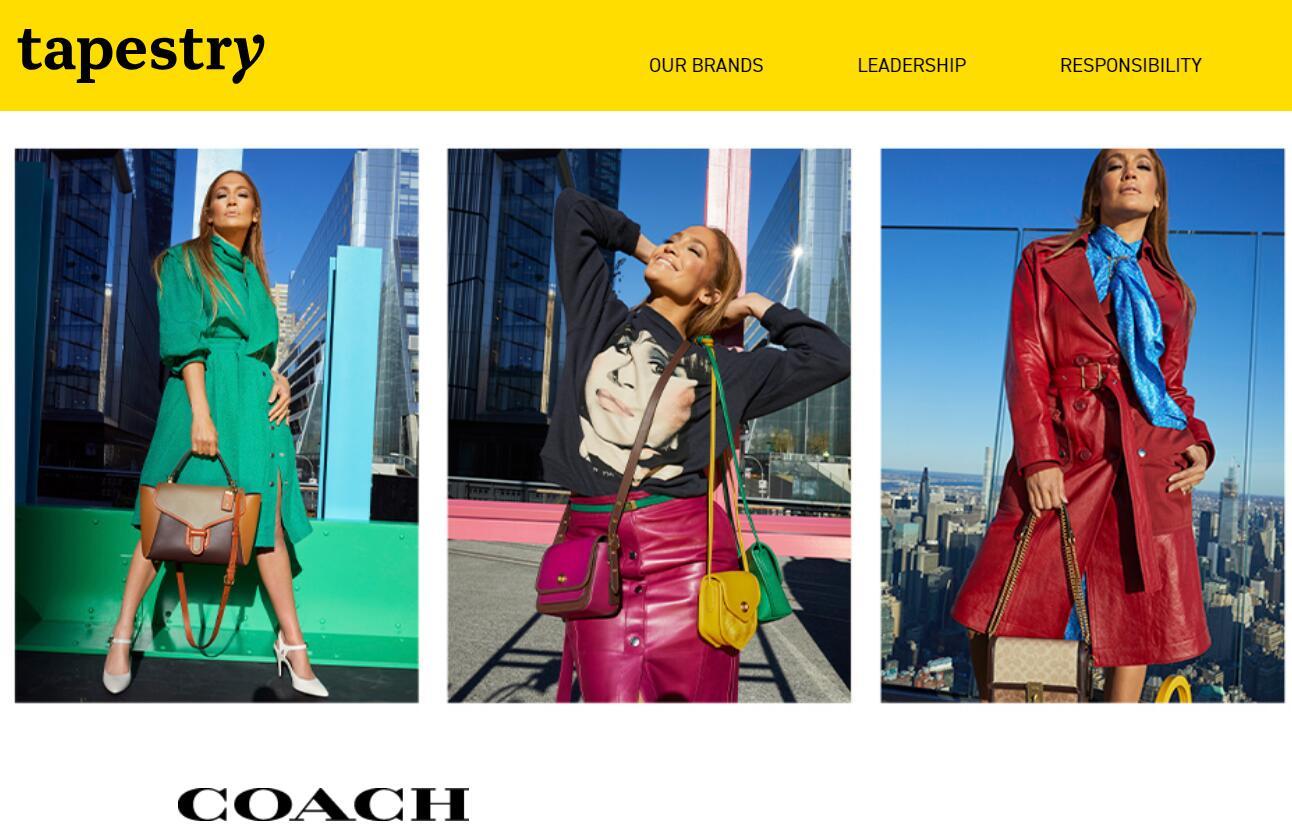 中国市场复苏与线上销售强势,推动 Coach母公司 Tapestry上季度业绩超出预期