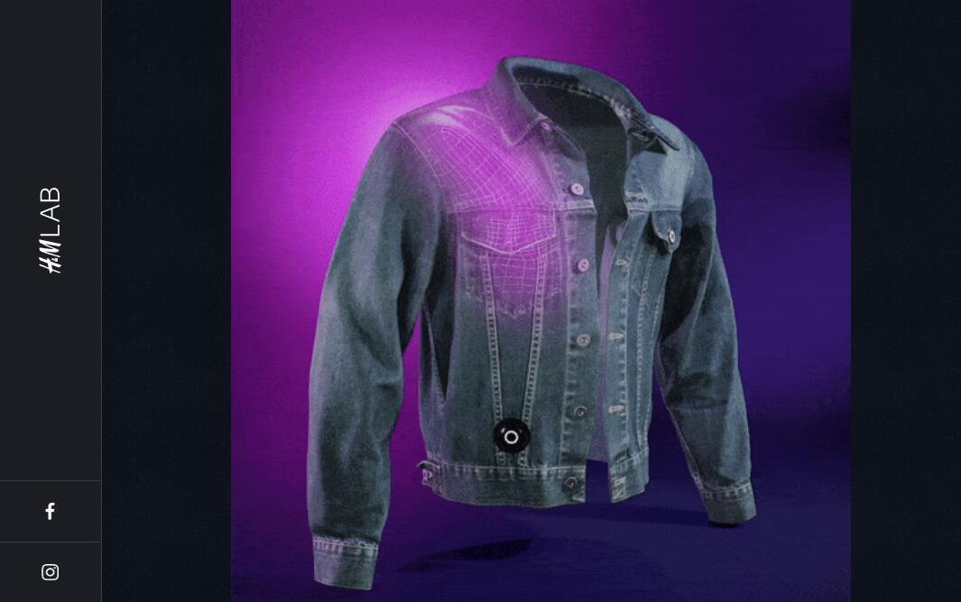 H&M 推出可模拟拥抱感觉的智能夹克,增进疫情隔离期间人与人的情感联系
