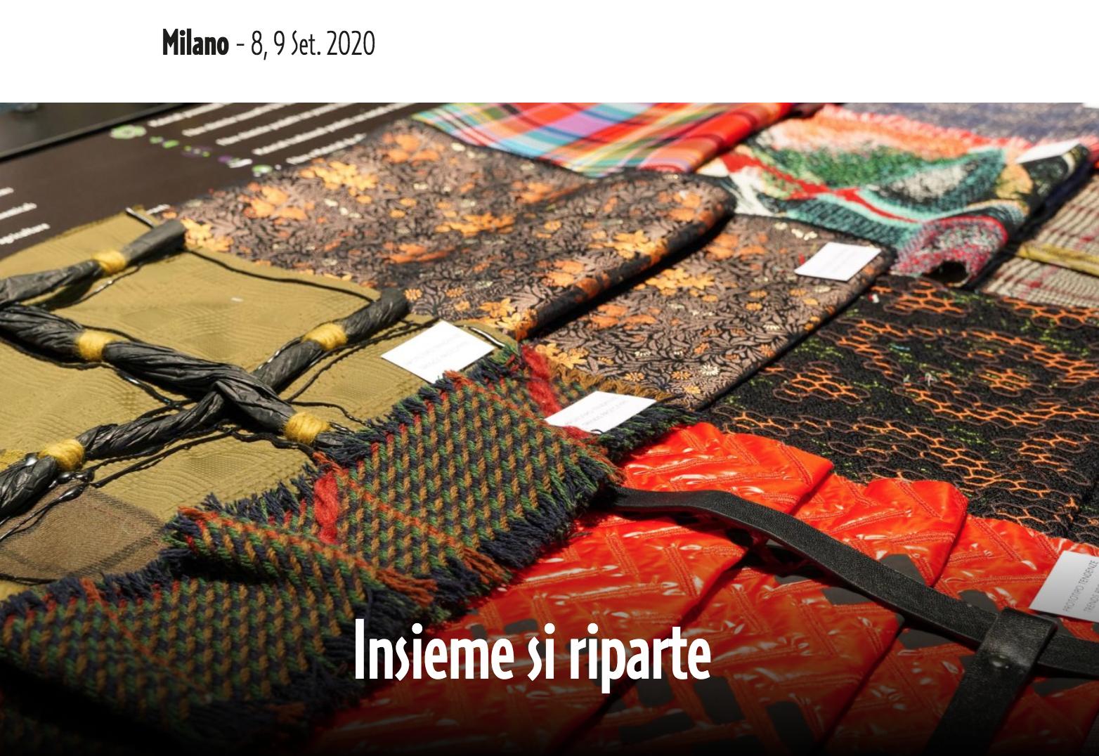 疫情解封后意大利首个纺织面料展  Milano Unica 迎来2400多名买家