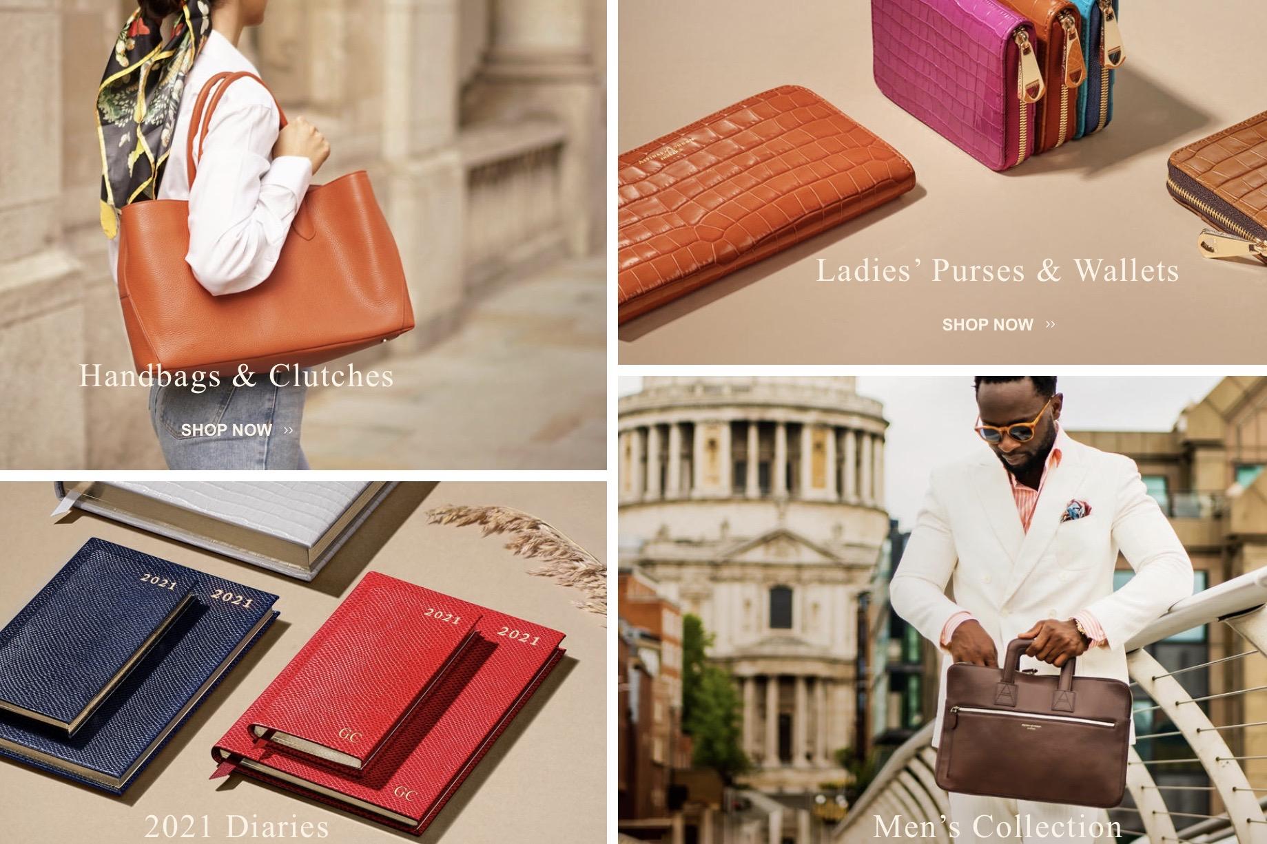英国轻奢皮具品牌Aspinal of London申请破产保护,将关闭所有门店,聚焦线上业务