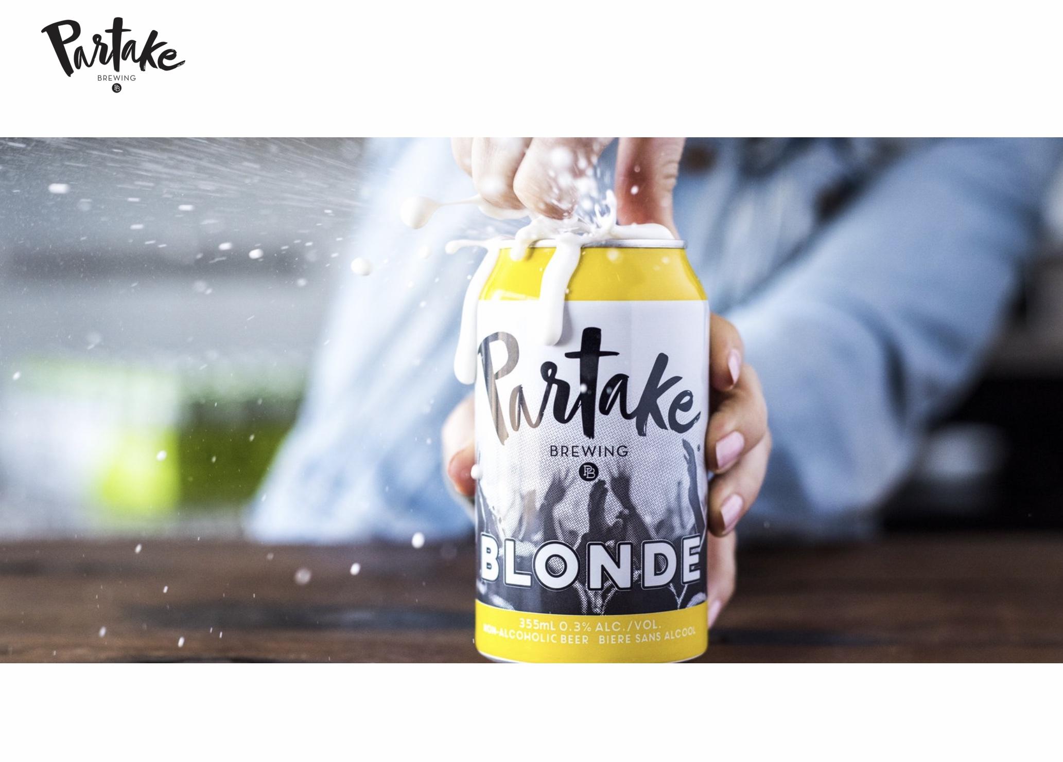 无酒精啤酒市场热度攀升,加拿大创业品牌 Partake 完成400万加元融资