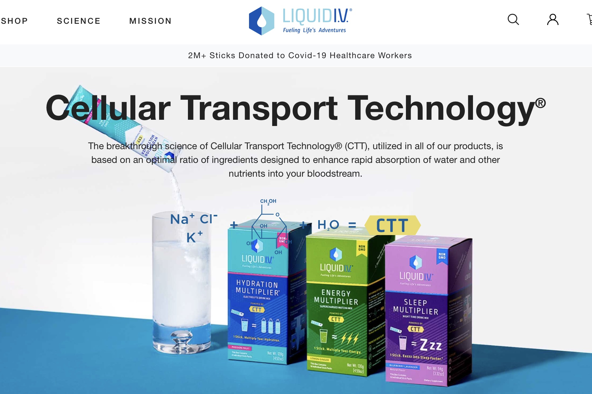 联合利华收购美国电解质饮料新锐品牌 Liquid I.V.