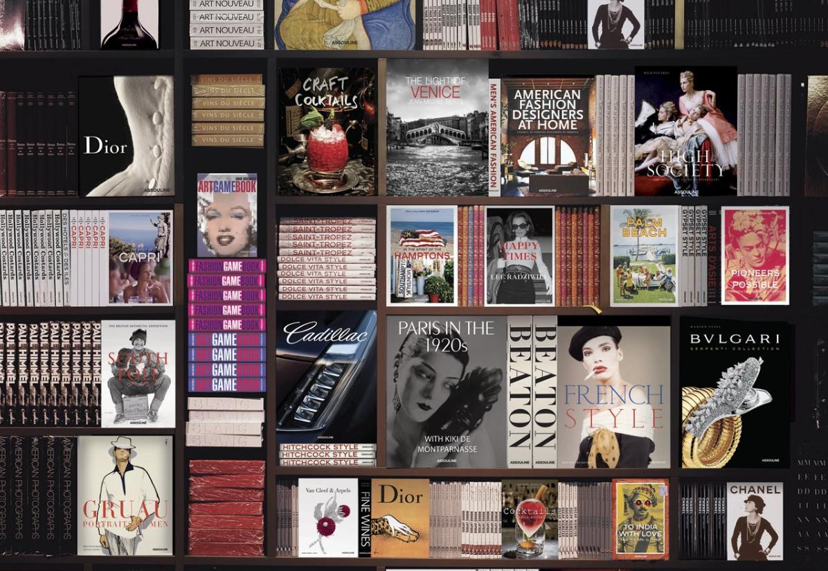 """世界上首个奢侈品书籍出版社:Assouline 涉足""""豪华私人图书馆""""的设计与建设"""