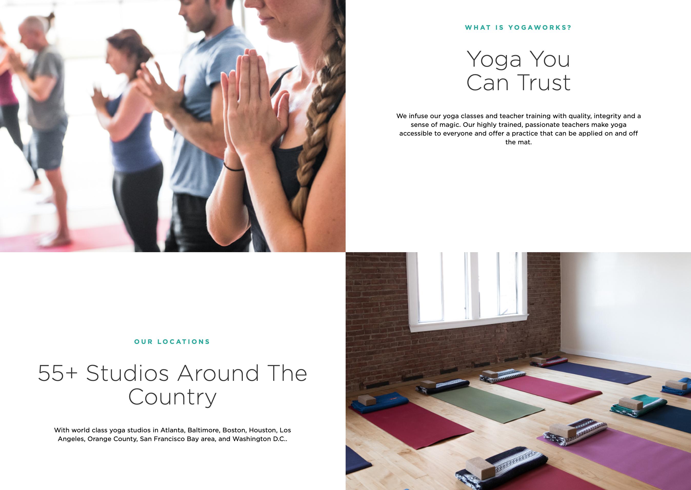 首个在纳斯达克上市的瑜伽连锁品牌YogaWorks 申请破产保护