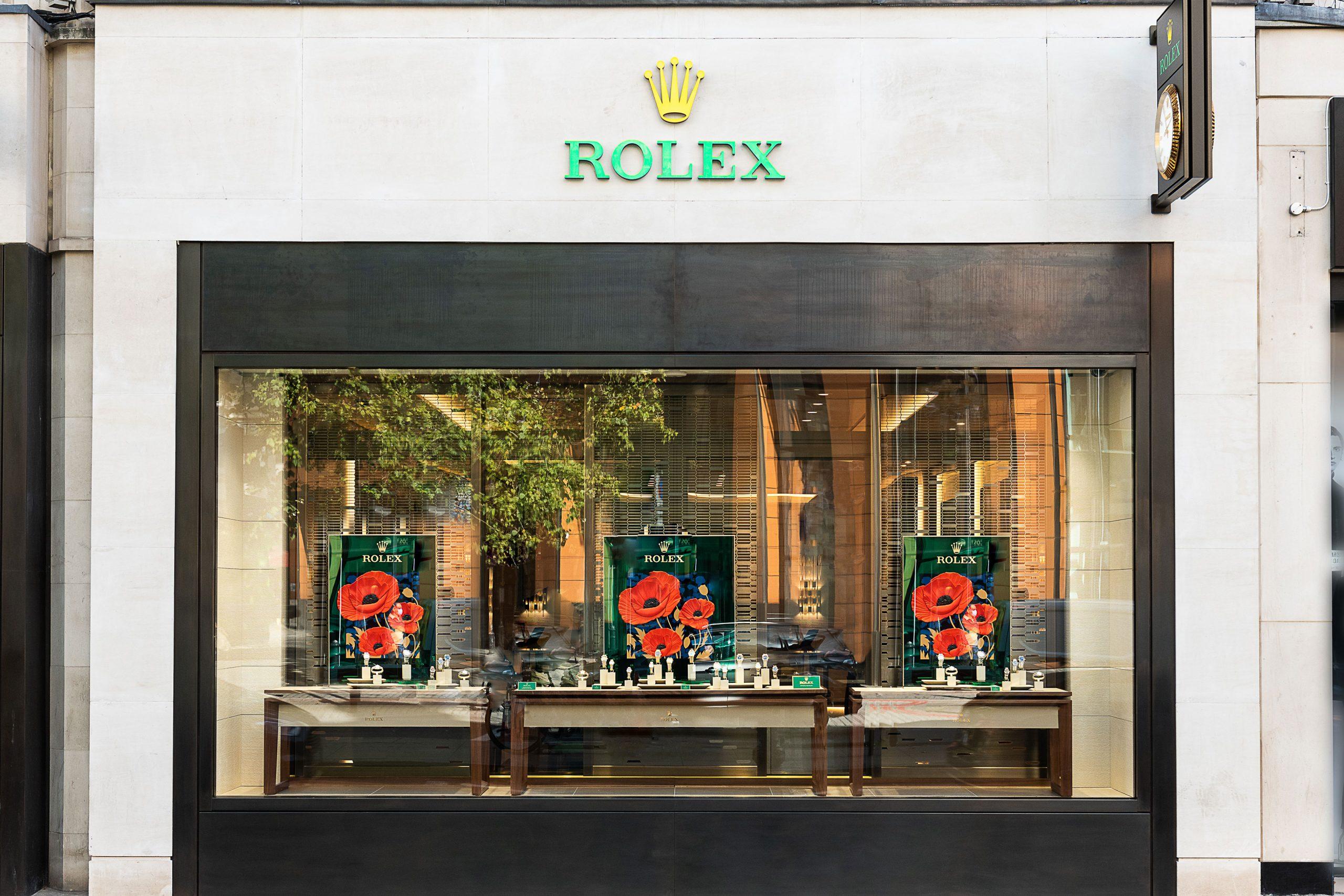 劳力士合作百年的经销商 Watches of Switzerland 为品牌在伦敦开出全新展厅