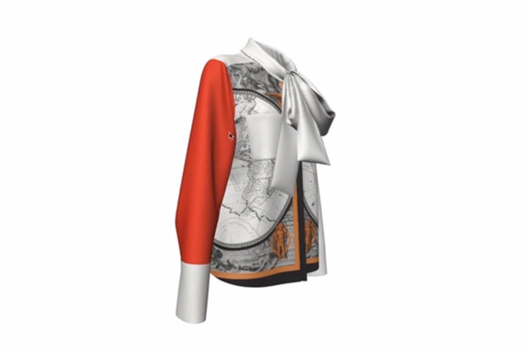 Burberry 应用3D游戏制作技术简化服装印花流程