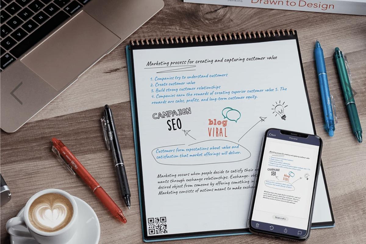 美国智能可循环使用笔记本品牌 Rocketbook 被全球著名文具公司 Bic 集团收购