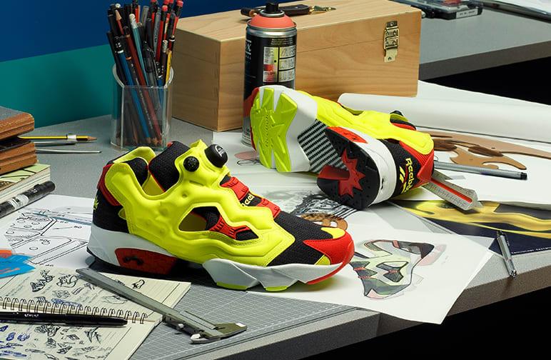 法国设计师品牌 Maison Margiela与 Reebok推出联名鞋款