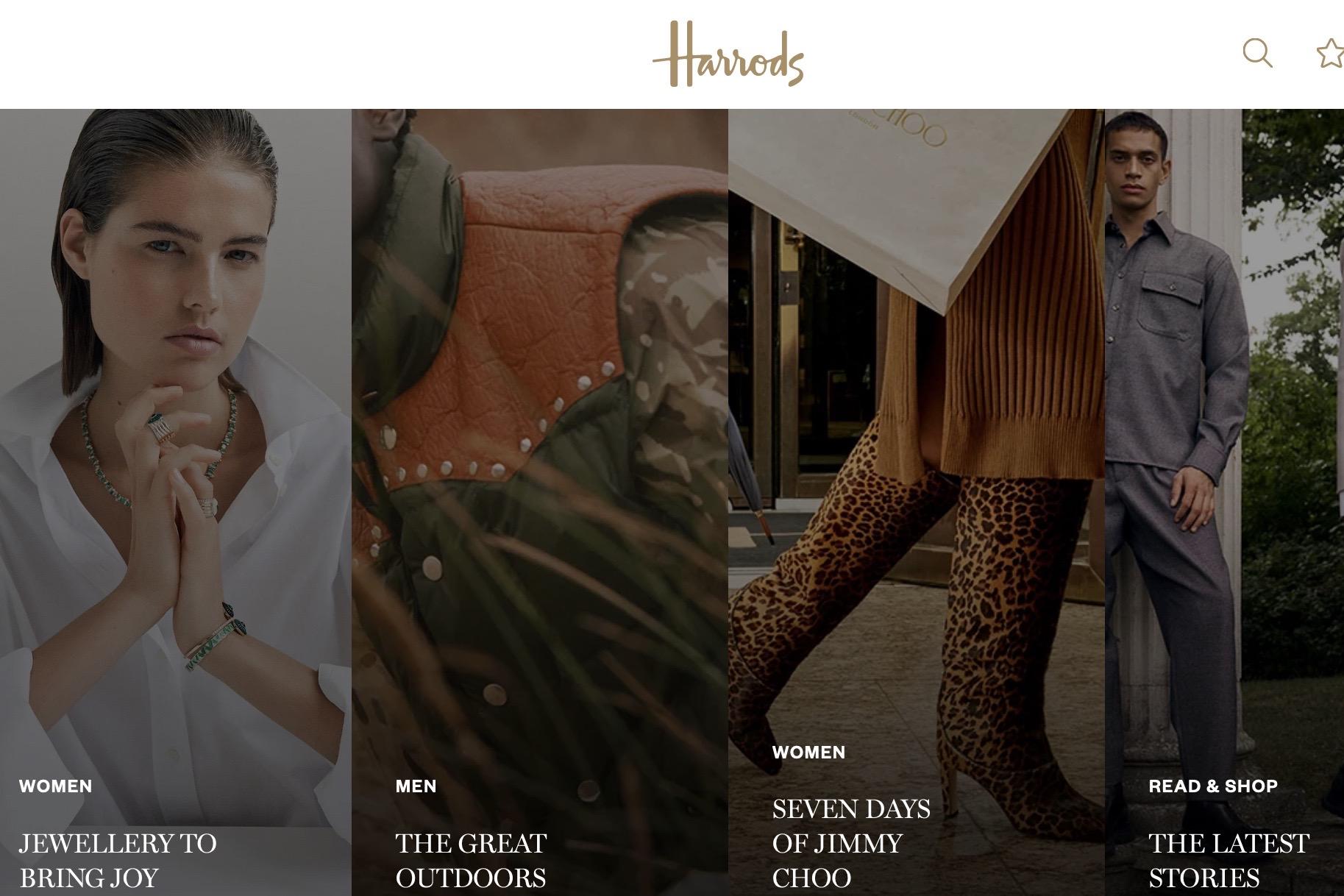 英国奢侈品百货公司 Harrods 上财年交易总额达22亿英镑,今年将面临巨大挑战
