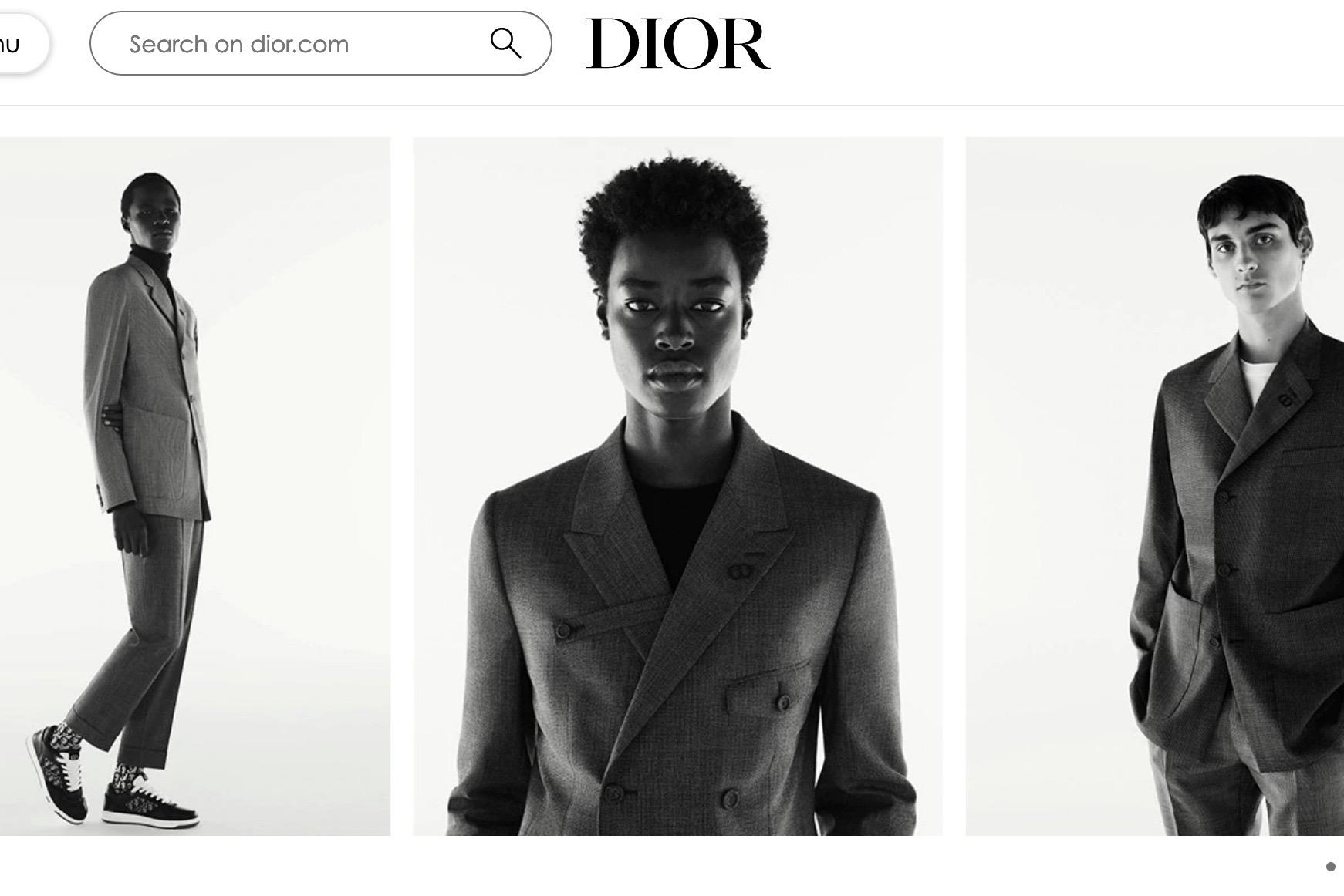 Dior 男装创意总监 Kim Jones 宣布:下月将在北京举办新一季发布活动