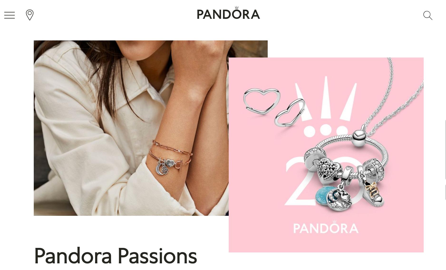 丹麦珠宝品牌 Pandora 11月实现有机增长,线上业务增长抵消实体销售下降
