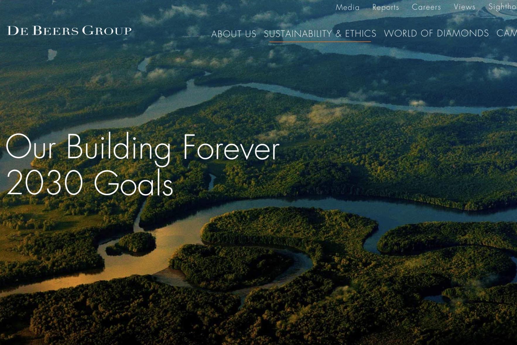 全球最大钻石供应商 De Beers 发布2030年可持续发展战略