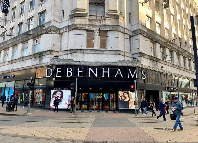 232年历史的英国百货 Debenhams 未能找到买家,将关闭旗下所有业务