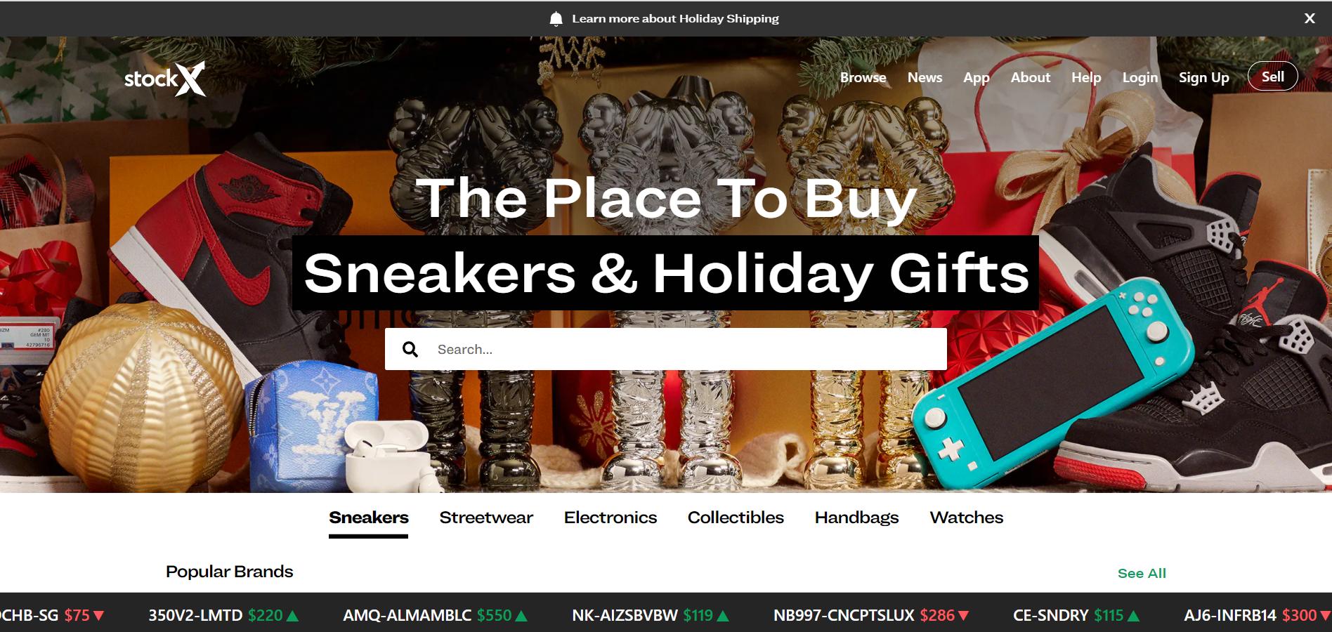 估值升至28亿美元!美国运动鞋交易平台 StockX 完成2.75亿美元E轮融资