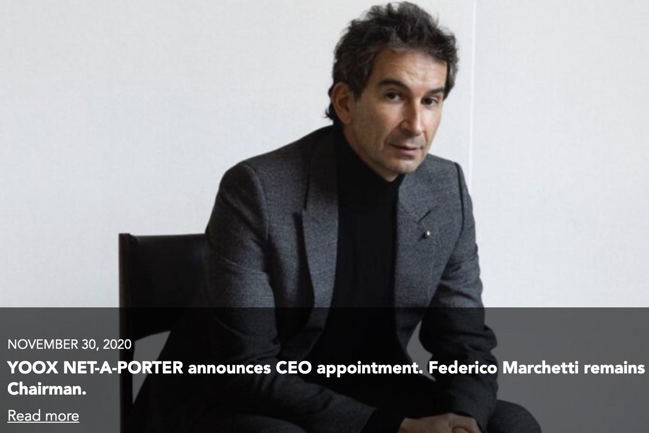 历峰旗下奢侈品电商 YNAP 领导团队大换血,新任CEO将于明年上任