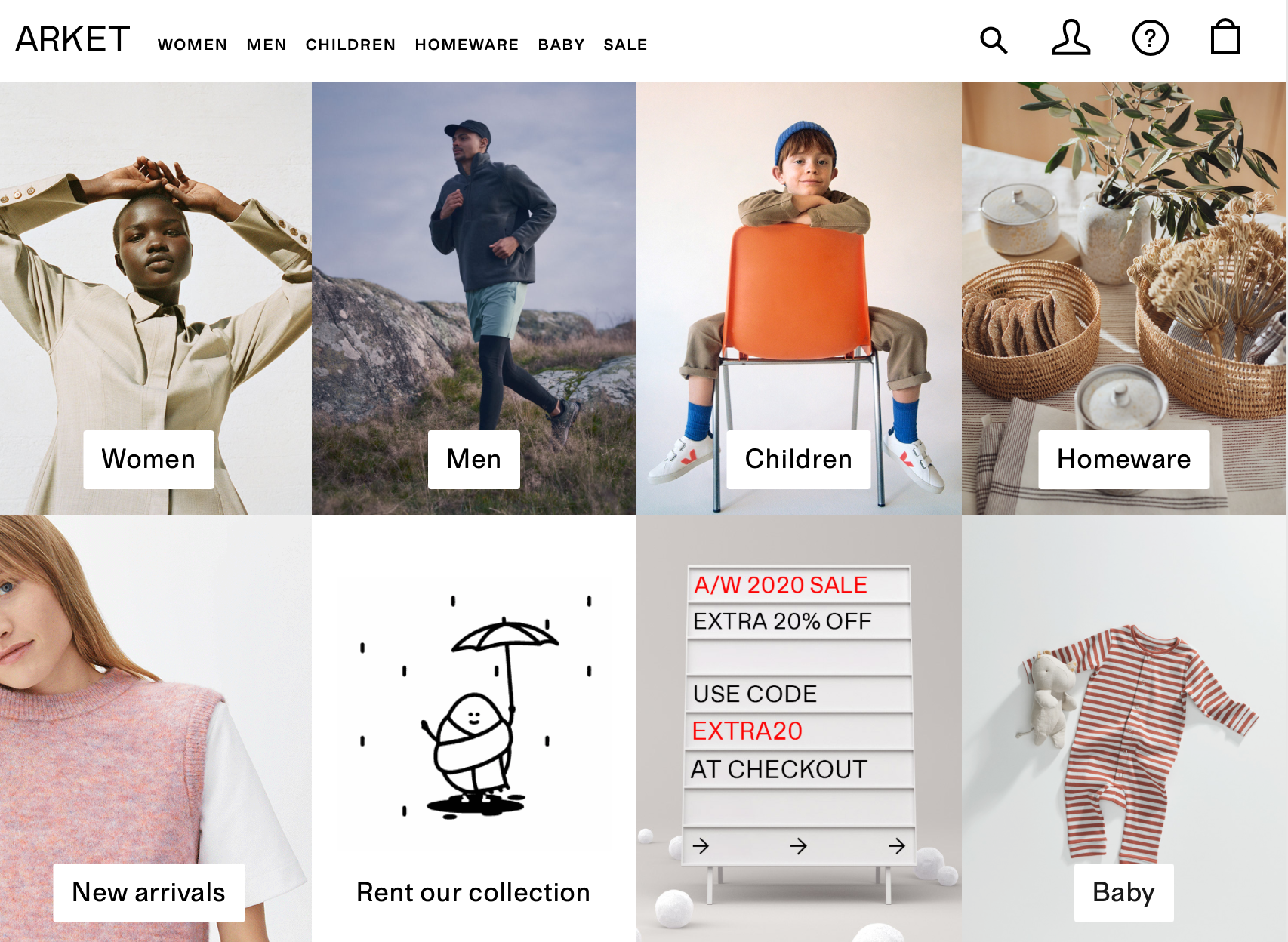 H&M集团旗下品牌 Arket 和 & Other Stories 将在北京、上海开出中国首店
