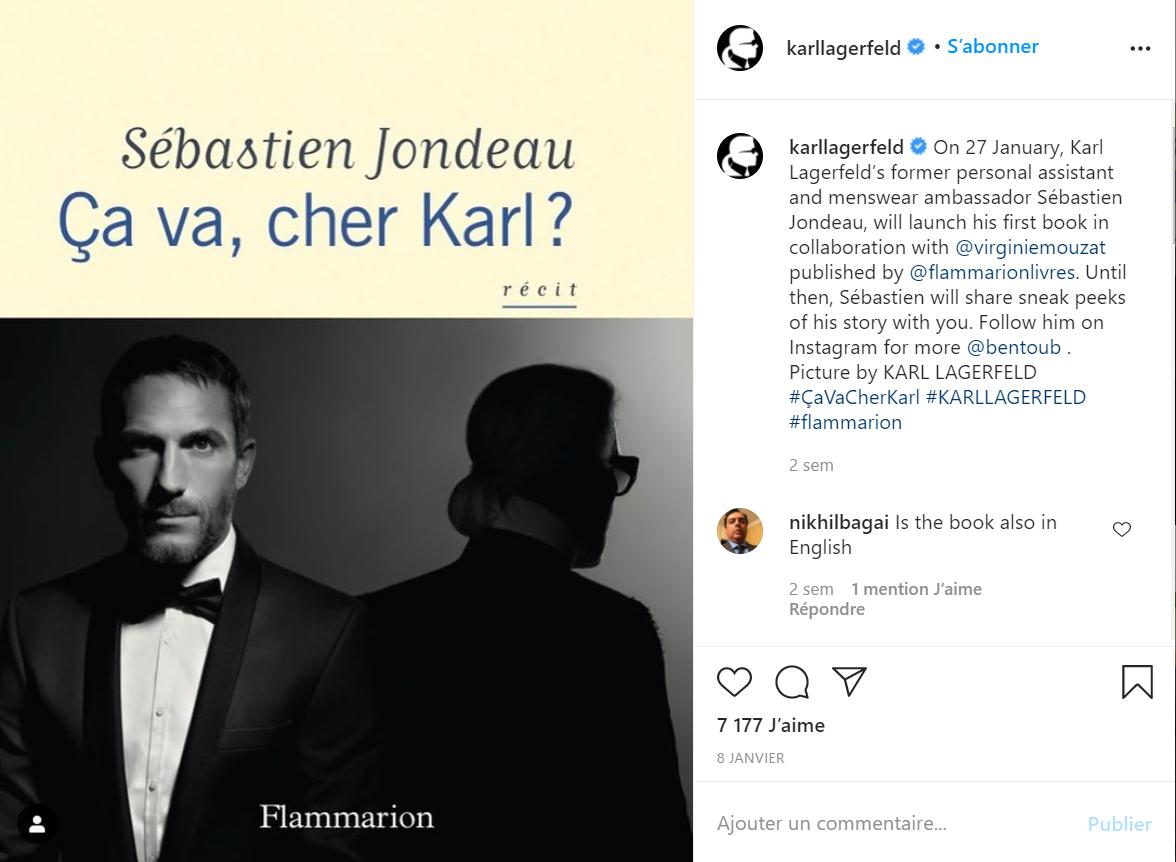 Karl Lagerfeld贴身保镖兼私人助理出书,回忆大师生前的生活点滴
