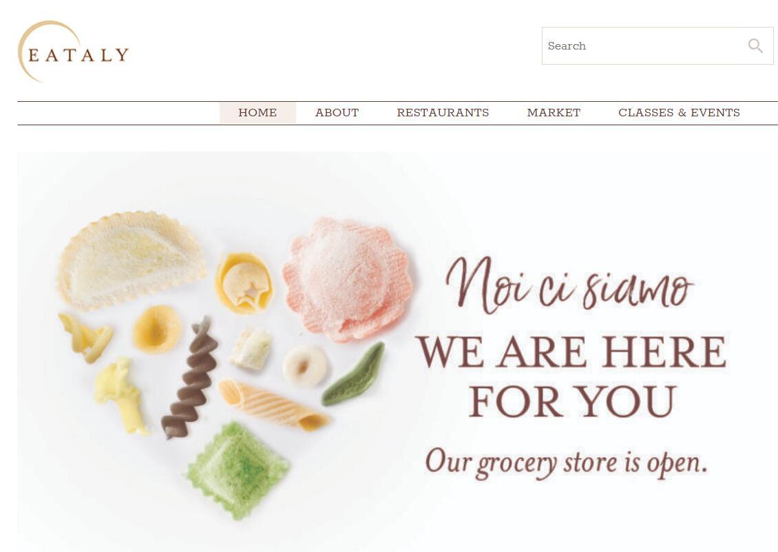 意大利美食集市 Eataly 北美负责人谈疫情下的最新动向