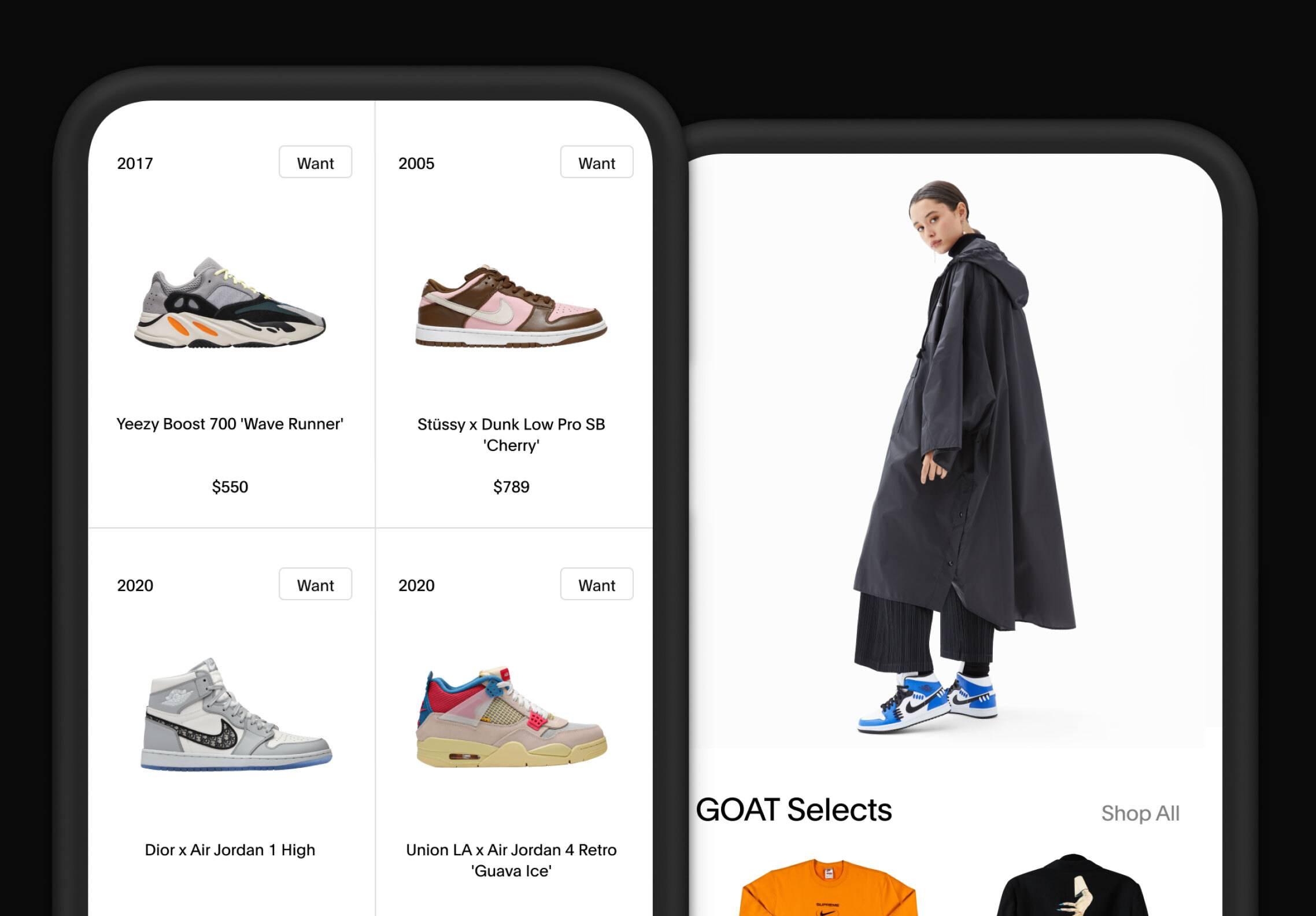全球最大稀有球鞋交易平台 GOAT 获开云集团大股东 Artémis 战略投资