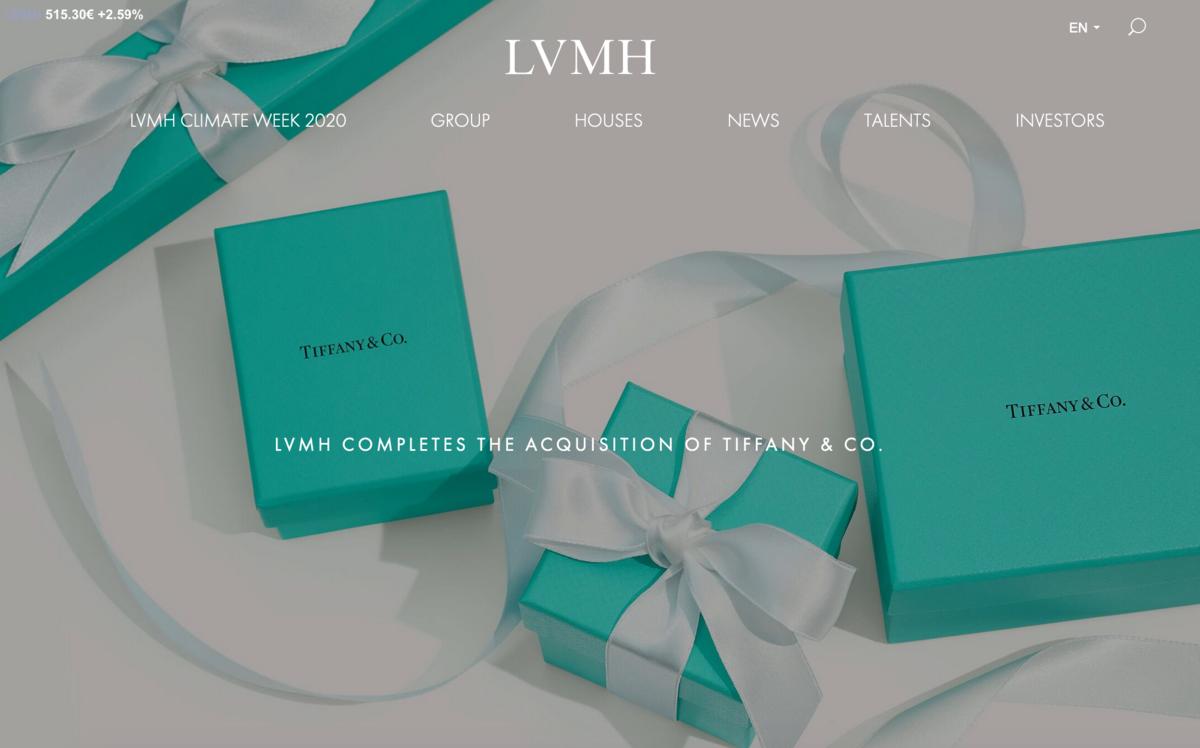 LVMH集团要求美国Tiffany的员工3月起每周到岗上班两天