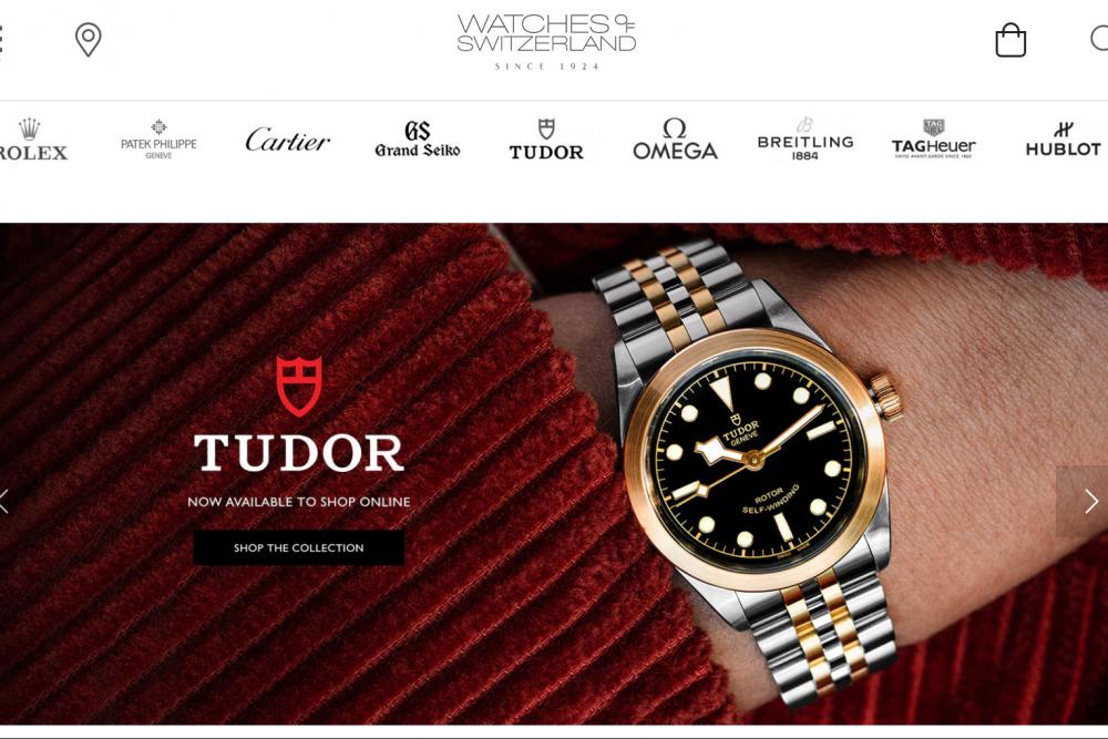 英国奢侈钟表零售商 Watches of Switzerland 上季度增长势头良好