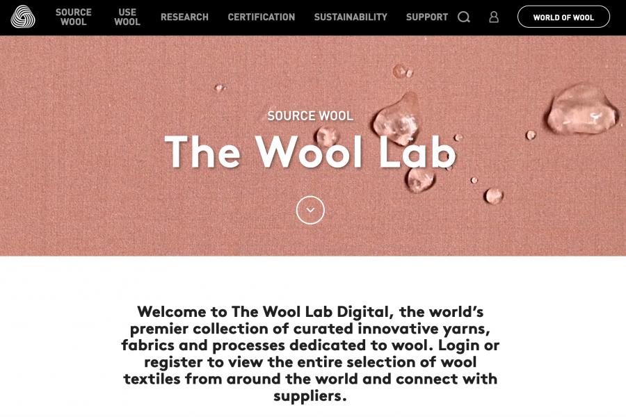 "The Woolmark Company 推出""羊毛实验室""数字平台"