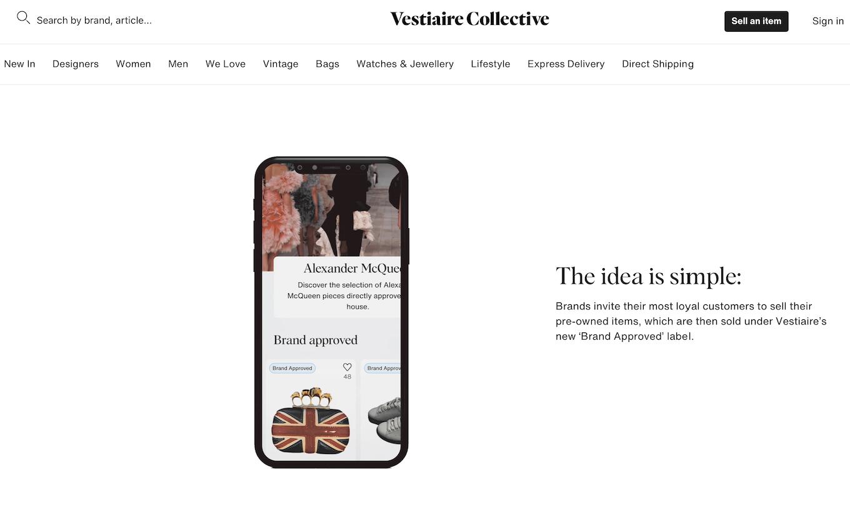 Alexander McQueen 与法国二手奢侈品互联网交易平台 Vestiaire 达成合作