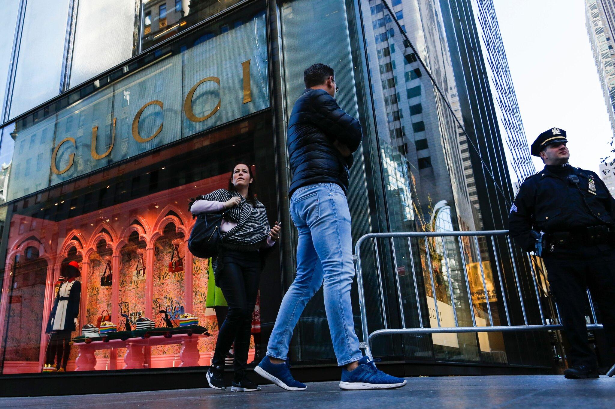 Gucci 将延长在曼哈顿特朗普大厦的租期