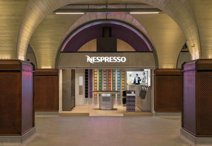 """雀巢旗下咖啡机品牌 Nespresso 推出新概念旗舰店:包含五大""""艺术体验"""""""