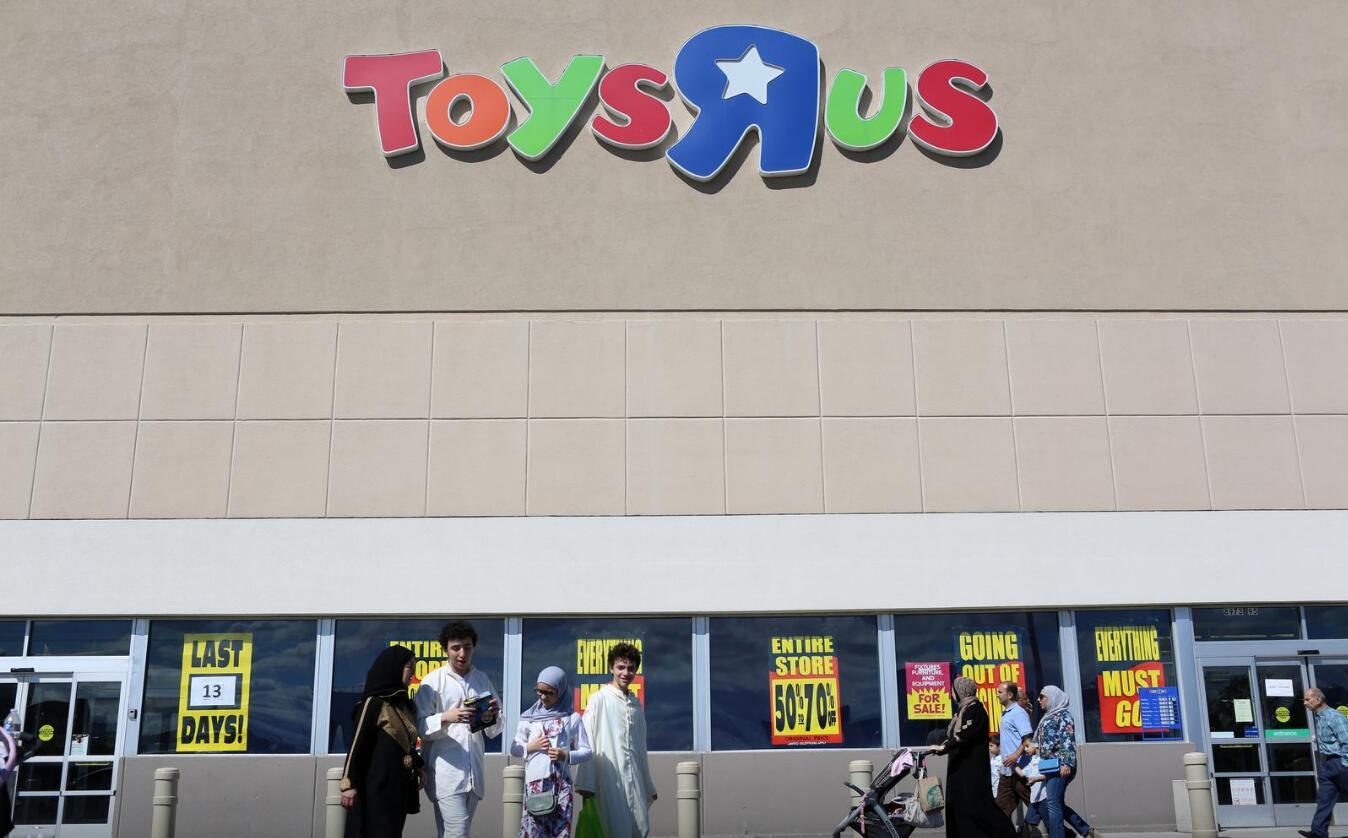 玩具反斗城(Toys R Us)被WHP品牌管理公司收购,全球零售额超20亿美元