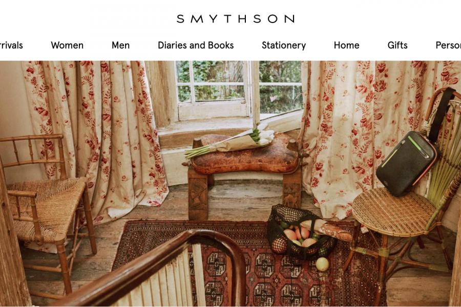 英国文具和皮具品牌Smythson 依然亏损,但电商业务增幅达50%
