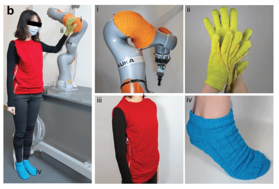 """可获取人体信息的""""触觉纺织品""""!MIT最新研究或将颠覆可穿戴时尚的未来"""