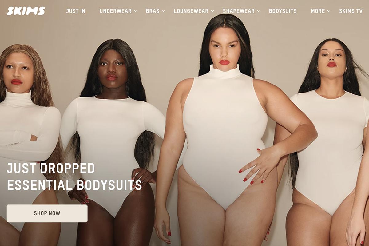 创办两年估值16亿美元!金·卡戴珊的内衣品牌SKIMS 融资1.54亿美元