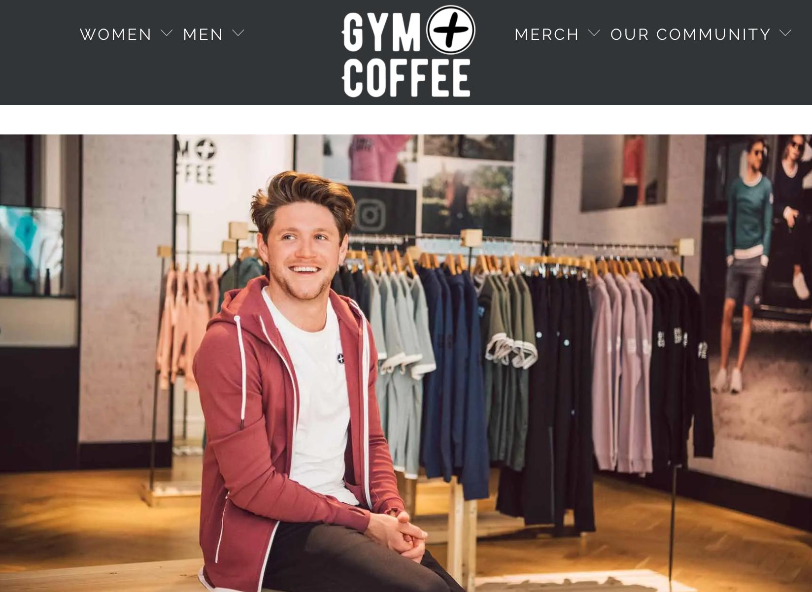 One Direction 乐队成员入股爱尔兰运动休闲品牌 Gym+Coffee