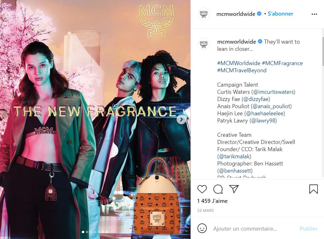德国轻奢皮具及配饰品牌 MCM 首次涉足香水领域