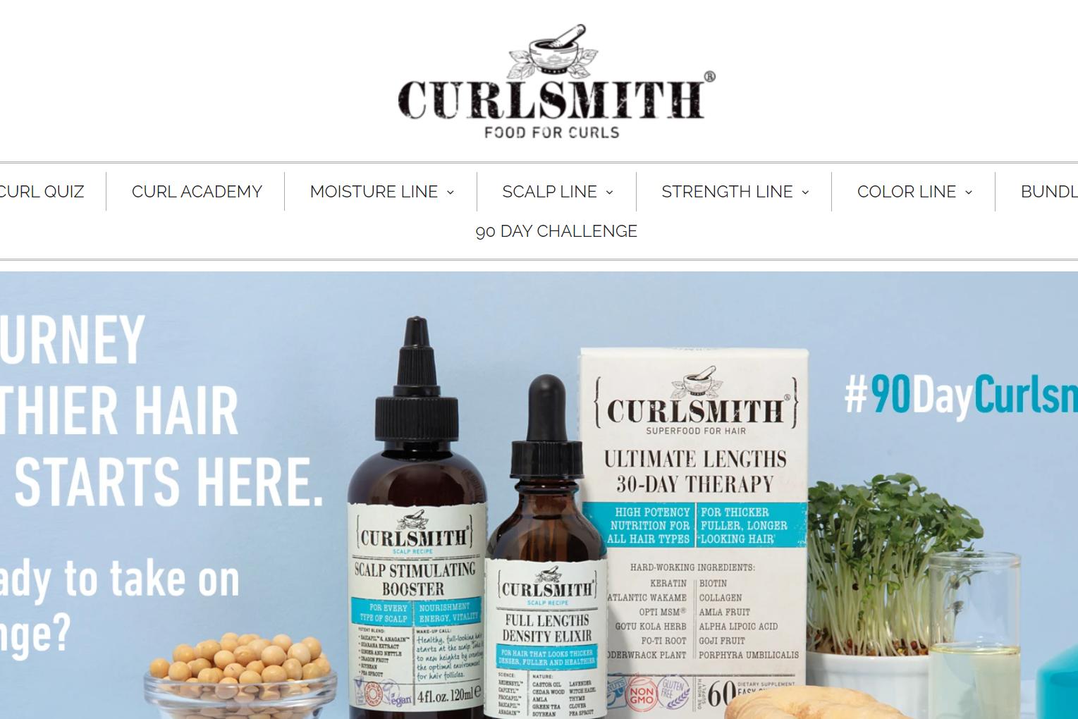 由欧莱雅前高管创立的美国高端卷发护理品牌 Curlsmith 完成A轮融资