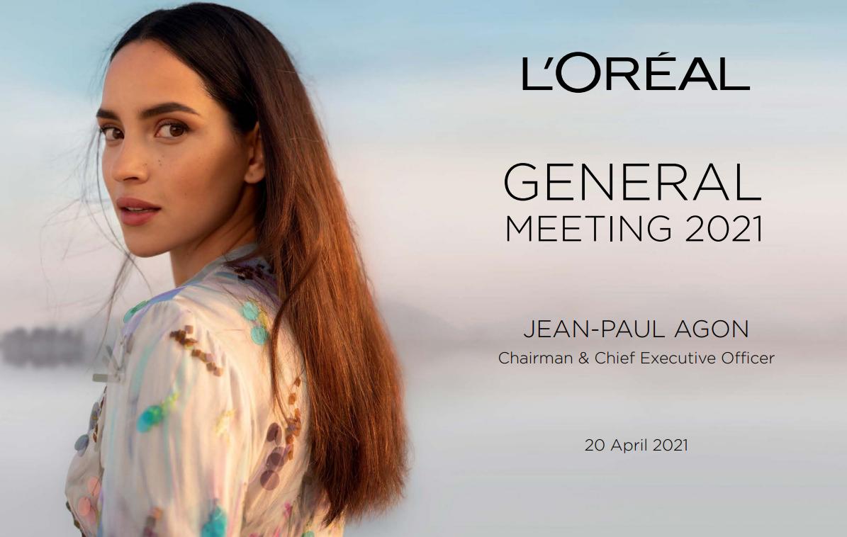 欧莱雅集团2021年股东大会纪要:集团在全球美妆市场的份额约为 13%