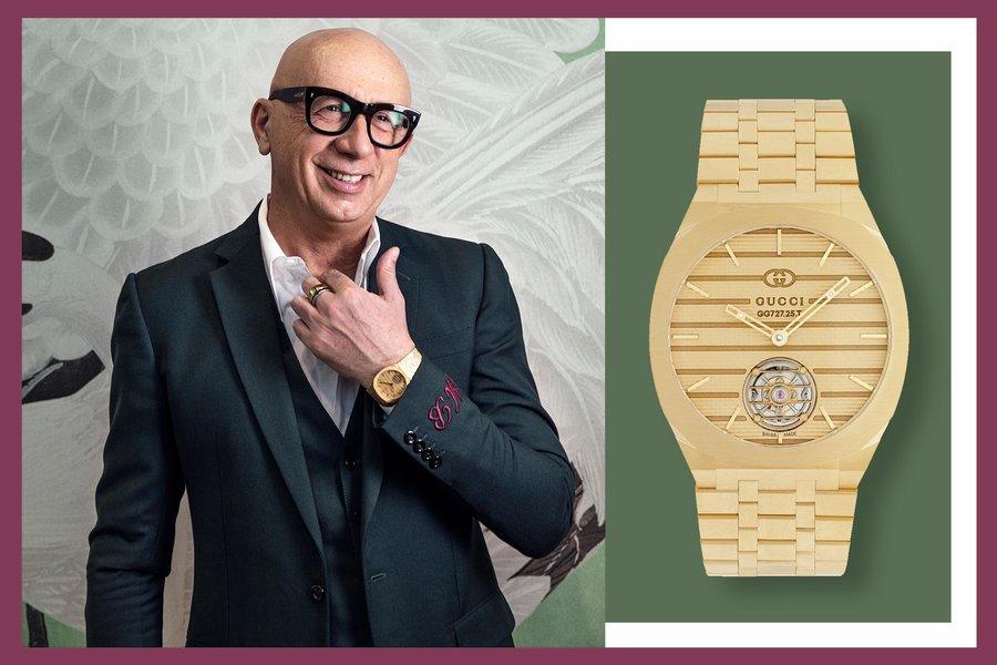 """Gucci 推出""""瑞士制造""""的奢华腕表系列,完全采用回收钢材"""