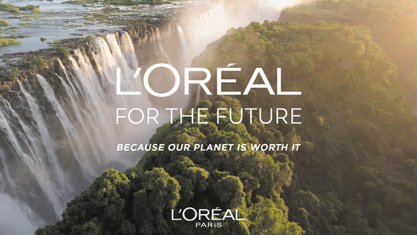 巴黎欧莱雅公布2030可持续发展目标:每单位成品减少50%碳足迹