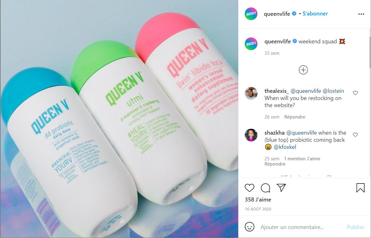 英国消费品巨头利洁时收购女性健康护理创业品牌 Queen V
