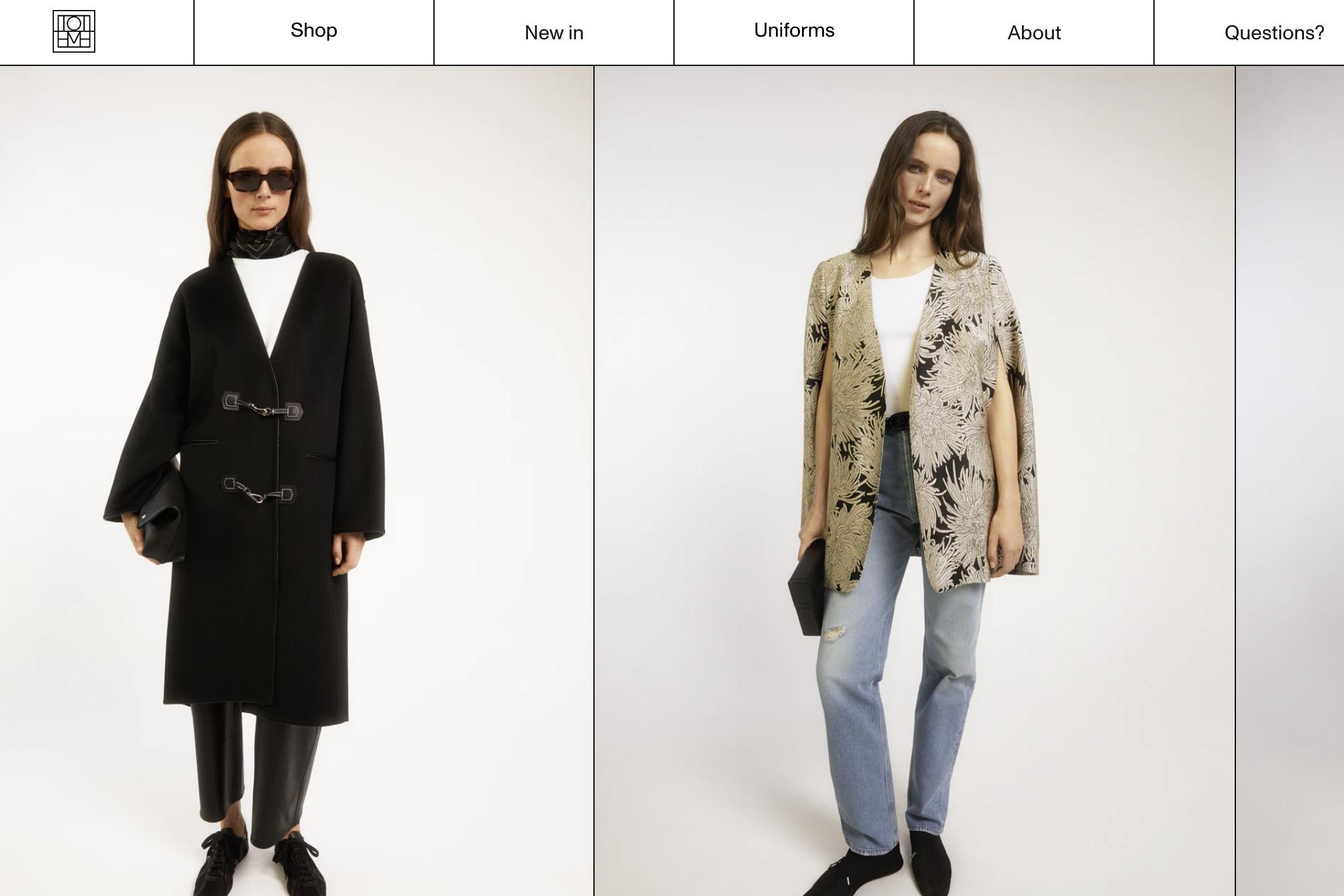 瑞典小众女装品牌 Totême 获欧洲家族基金 Altor 的少数股权投资