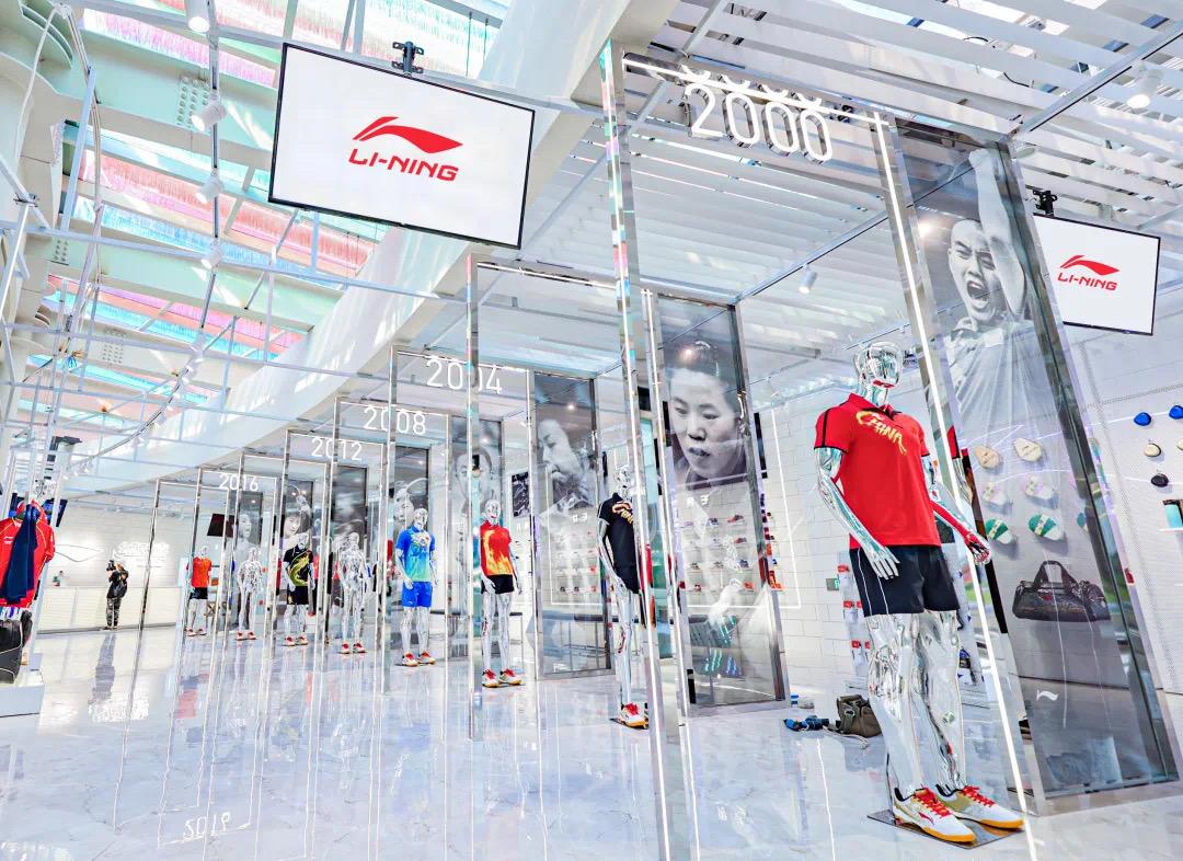 李宁公司预告今年上半年纯利已超去年全年,股价大涨13.6%