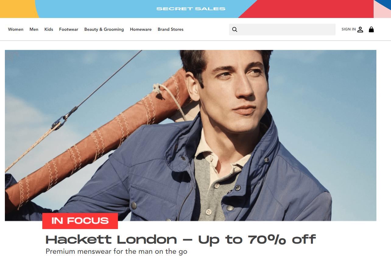英国时尚折扣电商 Secret Sales 完成1000万欧元A轮融资