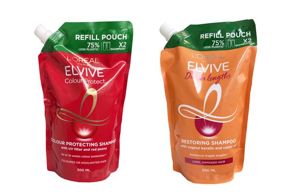 巴黎欧莱雅首次推出100%可回收的 PE 包装袋