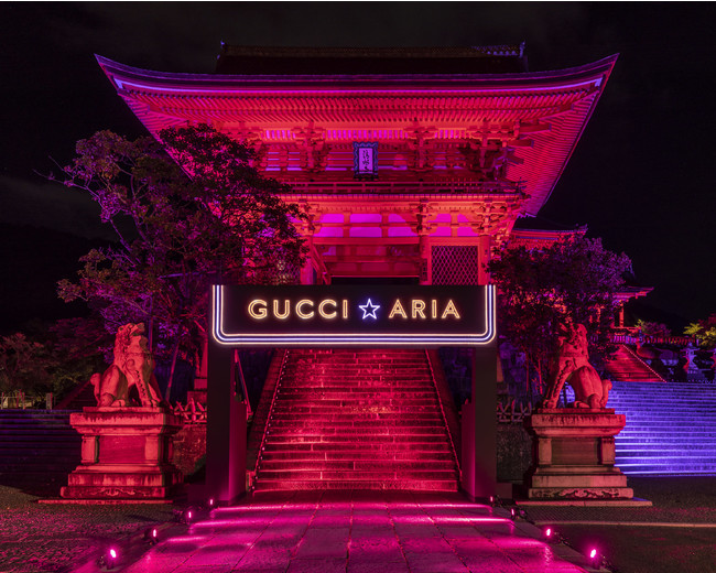 Gucci 百年庆活动又一站:让京都三大景点变身品牌体验馆