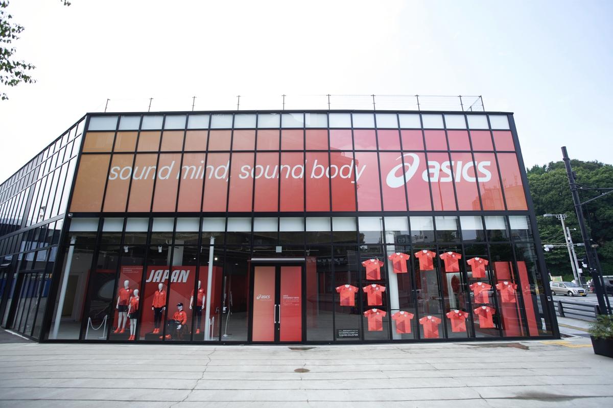 日本运动巨头 Asics在东京原宿推出限时体验活动:展示品牌的当下与未来