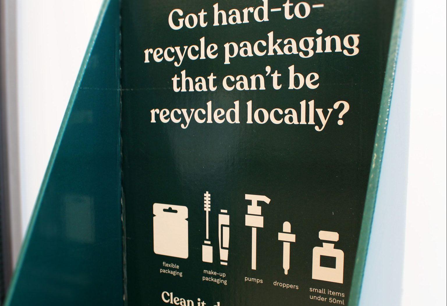 The Body Shop 在英国门店启动产品包装回收利用项目