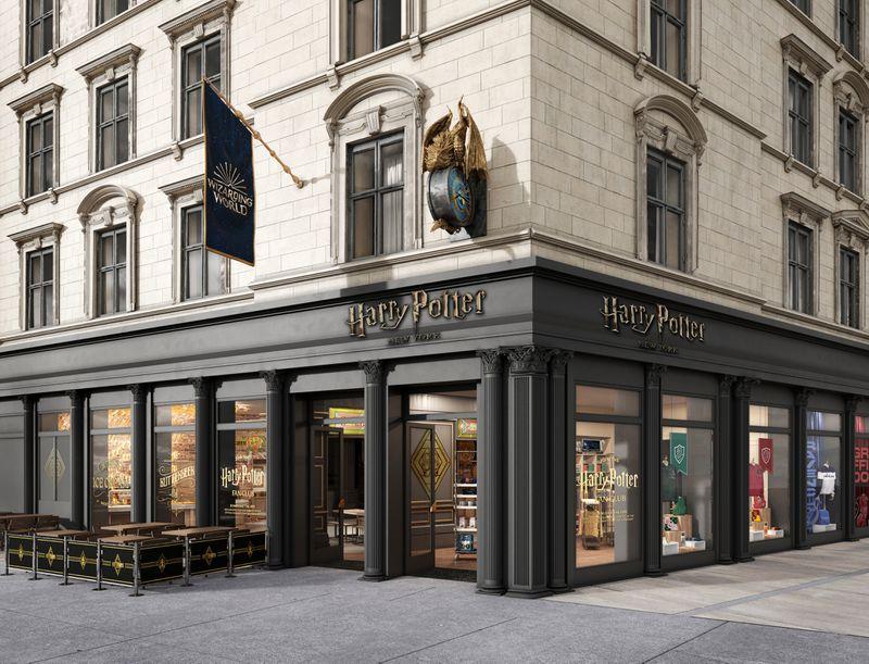 可能是全球最神奇的零售体验!《哈利·波特》纽约旗舰店正式开业