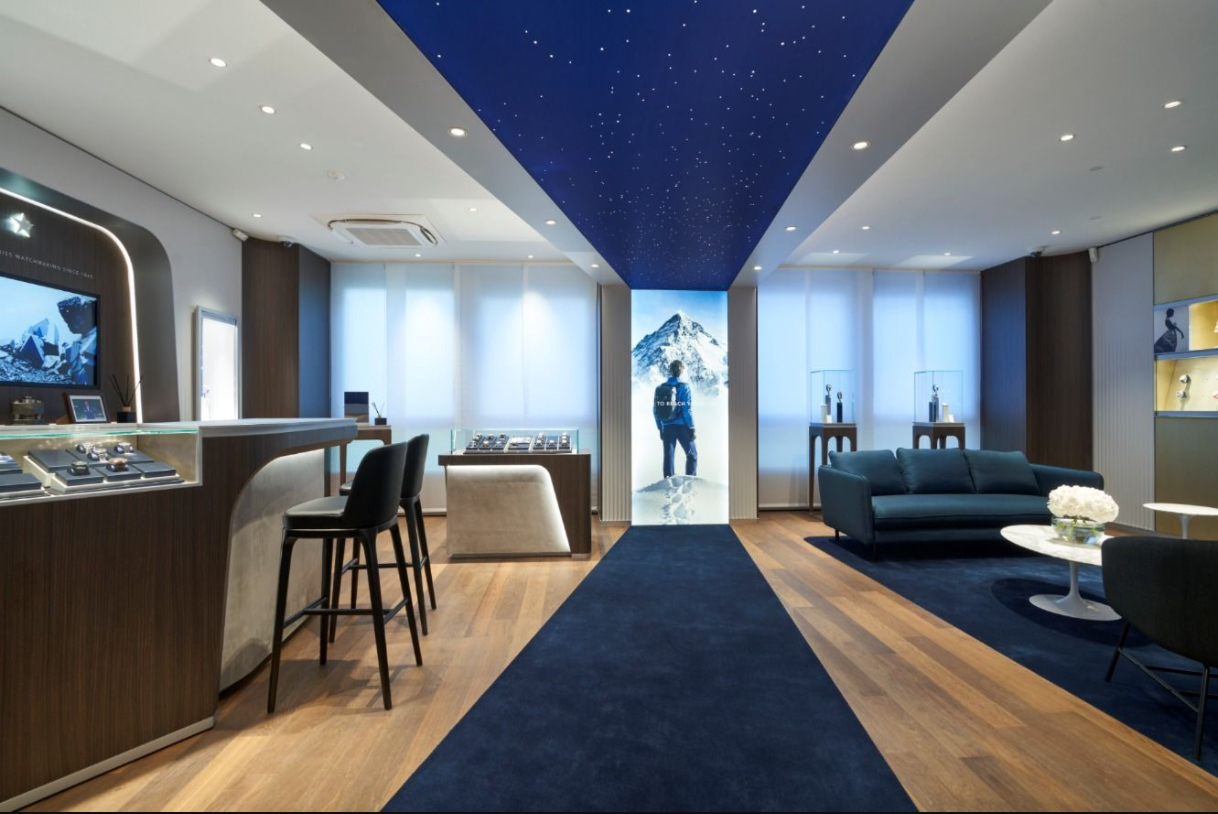 LVMH 集团旗下奢侈手表品牌 Zenith(真力时)开设首家旗舰店