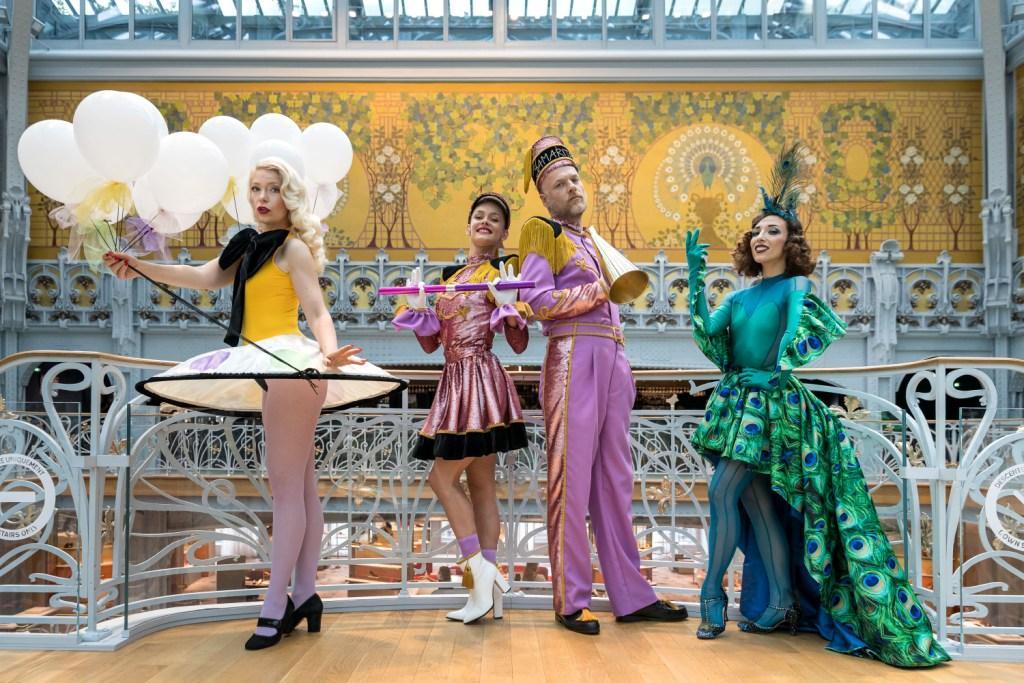 巴黎La Samaritaine百货开启为期两个月的150+1周年庆典活动